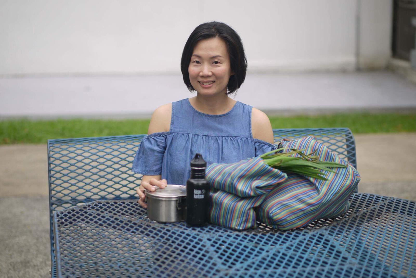 Our own eco-warrior, Sandra Zhang
