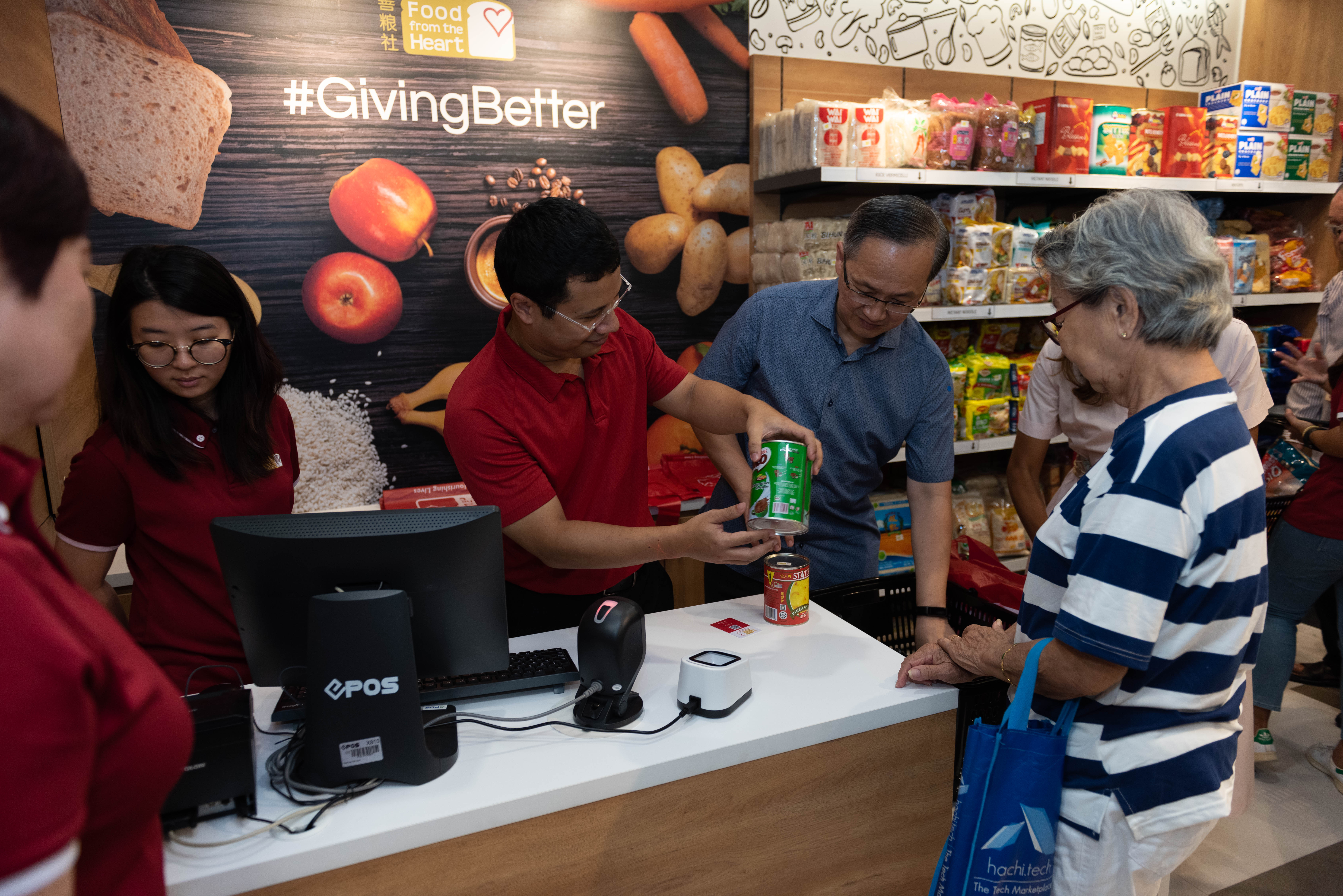 Food from the Heart's First Community Shop @ Mountbatten - A #GivingBetter Initiative